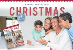 Samaritan's Purse Gift Catalog-give the gift of fresh water or animals for food and drink,and other programs