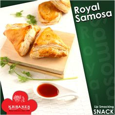 "Samosa lovers hit ""#Like""  #KRBakes #KRBakesSince1969 #BakedWithLove #Samosa"