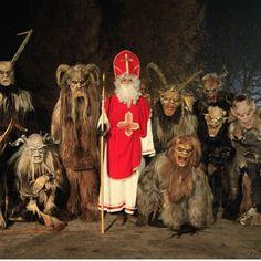 Dark Christmas, Merry Christmas, Most Haunted, Silent Night, Yule, Satan, Folklore, Reindeer, Devil