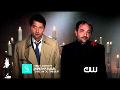 """[VIDEO] NEW SEASON 9 PROMO: """"Crowley and Castiel"""" - this is a whole lot of awesomeness!!!"""