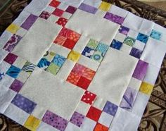 quilt block of month free april tutorial  burgoyne surrounded block by beebalm