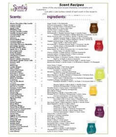 Scentsy Recipes Host a Scentsy Party and earn yours FREE! Candle Wax Warmer, Scented Wax, Smell Good, T 4, Good To Know, Fragrance, Diys, Recipes, Scentsy Uk