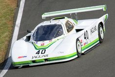 My all time favorite GTP - didn't win many races, but looked great.  1983 Group 44 Jaguar XJR5 GTP IMSA