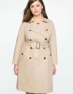 Always wanted a trench coat; make it happen!  Belted Trench Coat Camel