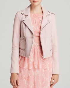 Maje Leather Jacket - Bloomingdale's Exclusive