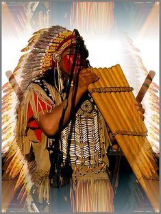 Native American by Evanthiaa, via Flickr