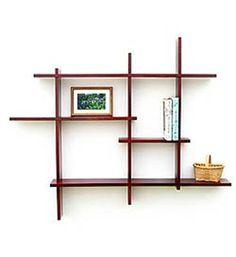 Knick-Knack Shelves - Multi Tier Birch