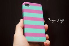 #iphone6pluscase #iphone5case #iphone5scase #iphone5ccase #iphone6case #iphonecase #striped #line #pink #turquoise #lovely #case #cover #iphone #apple #nice #popular