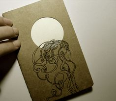 Altered journals - various by Heidi Burton, via Behance