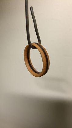 Laminated ring. Teak, Beech. #mywork