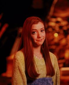 "Buffy The Vampire Slayer S1 Alyson Hannigan as ""Willow Rosenburg"""