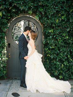 wedding dress; photo: Lauren Kinsey  Available at Brandi's Bridal Galleria, etc. Visit www.brandisbridal.com for more info!