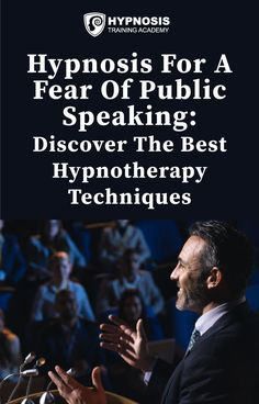 Find out how to use hypnosis for a fear of public speaking with the best hypnotherapy techniques to soothe your client's stage anxiety and boost confidence. #hypnosis #publicspeaking #anxietymanagement #HTAforceforgood Psychology Today, Psychology Facts, Exposure Therapy, Confidence Boost, Hypnotherapy, Blog Planner, Phobias, Public Speaking, Body Language