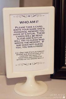 This is such a cute idea! Bridal Shower