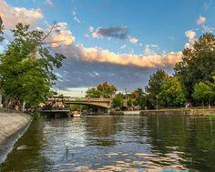 Timisoara - Bega river Romania, River, Rivers