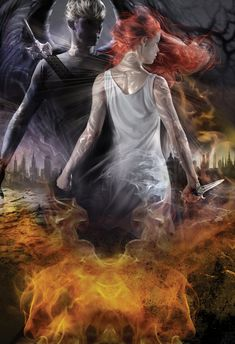 City of Heavenly Fire by Cassandra Clare; Cover Artist Cliff Nielsen
