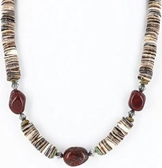 $280 Retail Tag Authentic Made by Charlene Little Navajo .925 Sterling Silver Graduated Spiny Oyster and Jasper AJAX Turquoise Native American Necklace. Native-Bay has the largest online selection of Authentic ONLY Native American Jewelry. All stones used are Natural and hand-picked by the Native American artist. NEW condition with retail tag still attached. You will receive what you see in pictures, if the item is a pendant and it is photographed with a chain attached, you will receive the…