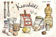 Cartoon Cooking: Kurabíiki. Un dulce verano.