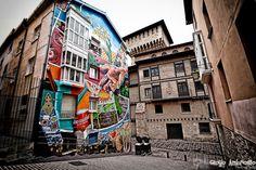La ciudad pintada (Vitoria-Gasteiz's painted city)