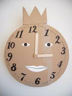 atelier pour enfants: Horloge #decor                                                                                                                                                     Plus
