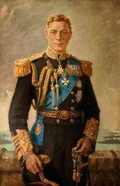 George VI (1895–1952) 1938 (HMS Excellent) by Francis Edwin Hodge (1883-1949)