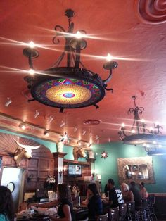 Chandelier at uncle julios chicago