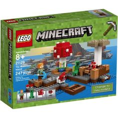 LEGO Minecraft The Mushroom Island (21129) Image 1 of 9