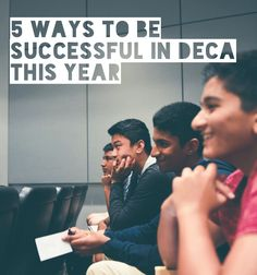 Discover 5 ways to #OwnYourFuture in DECA this year from California DECA Preisdent Moksh Jawa.