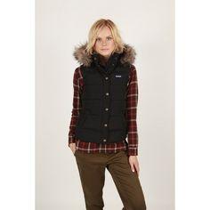 UNITE : Penfield Women's Sibley Vest with Faux Fur Black - PF0852W12.001 Penfield Women's Sibley Vest