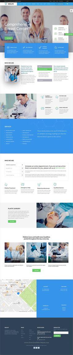 Kallyas is a creative and beautifully design responsive #WordPress theme for #medical #clinic #hospital stunning websites with 35+ multipurpose niche homepage layouts download now➩ https://themeforest.net/item/kallyas-responsive-multipurpose-wordpress-theme/4091658?ref=Datasata Está farto de procurar por templates WordPress? Fizemos um E-Book GRATUITO com OS 150 MELHORES TEMPLATES WORDPRESS. Clique aqui http://www.estrategiadigital.pt/150-melhores-templates-wordpress/ para fazer download…