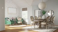 See 4 different dining room projects done via online interior design Front Rooms, Dining Room Inspiration, Dining Table, Dining Rooms, Home Reno, Dining Room Design, Frontroom Ideas, Sweet Home, Room Decor