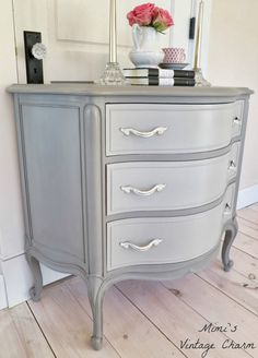 Mimi's Vintage Charm...: French Linen Dresser