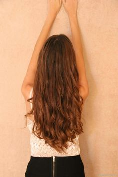 Hair, brunete, red