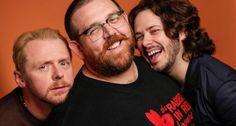Simon Pegg, Nick Frost et Edgar Wright à nouveau réunis