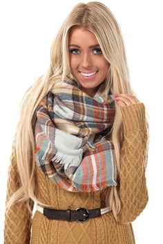 Lime Lush Boutique - Mustard Multi Color Plaid Frayed Scarf, $29.99 (http://www.limelush.com/mustard-multi-color-plaid-frayed-scarf/)#trend #queen #day #us #follow #girl #dress #princess #look #lookbook #like #beautiful #cute #sexy #iphonesia
