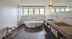 20 best BADKAMER | Landelijk images on Pinterest | Bathroom, Half ...
