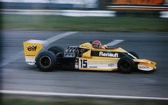 Jean-Pierre Jabouille, Renault RS01, 1977 British GP