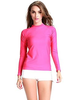 OUO 2015 UV Protection Long Sleeve Swimming T-Shirt UPF 50+ OUO http://www.amazon.com/dp/B00W55VJIK/ref=cm_sw_r_pi_dp_buj0vb0X2W1SV