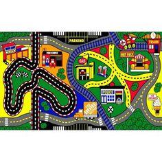 $20.97 / each  Natco My Town 3 ft. x 5 ft. Kids Play Mat-2571.91.20B - The Home Depot