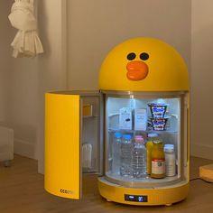 Cute Room Ideas, Cute Room Decor, Objet Wtf, Otaku Room, Kawaii Room, Cute Kitchen, Gamer Room, Mini Fridge, Room Setup