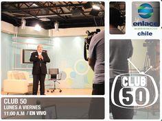 No te pierdas hoy un nuevo programa del Club 50, Siempre con grandes sorpresas. Lunes a Viernes 11: 00 am. En vivo