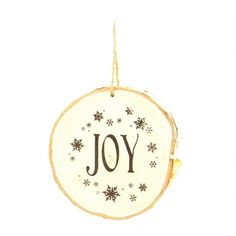 "Wooden hand crafted ""Joy"" Christmas ornament with snowflake print. Spread some joy this festive season! Wooden Christmas Ornaments, Cute Christmas Gifts, Xmas Gifts, Christmas Decorations, Holiday Decor, Wooden Hand, Rustic Decor, Festive, Great Gifts"