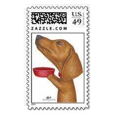 GiGi (Dachshund) Stamp
