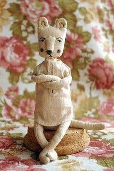 Muñecos de trapo: Fotos de originales diseños (9/15) | Ellahoy