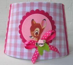 Lampenkapje Bambi voor staande voet.