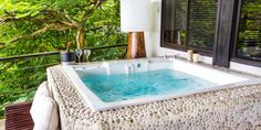Located in an exclusive area inside Tulemar, Casa del Mar is a luxurious, 2 story, 2 bedroom retreat nestled into the jungle hillside. Vacation Resorts, Vacation Rentals, Luxury Escapes, Bedroom Retreat, Costa Rica, Adventure Travel, Tourism, Del Mar, Resorts