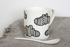 Coffee Mug/ Inspirational Mug/ Inspirational quote/ by MUNIshop