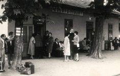 Aszófő-Tihany állomás a '60-as években