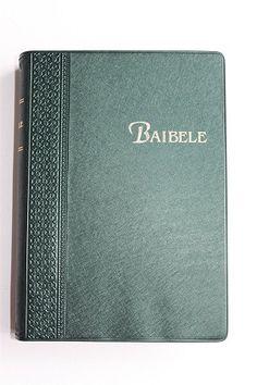 BAIBELE / Bemba Language Bible / Beautiful Vinyl Bound with Golden edges / The Bemba language, ChiBemba, also known as Cibemba, Ichibemba, Icibemba and Chiwemba, is a Bantu language that is spoken primarily in Zambia