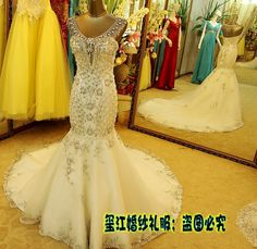 Cheap organza skirt wedding dress, Buy Quality organza ruffle wedding dresses directly from China wedding dress with lace Suppliers:  2014 New Luxurious crystal sweetheart Wedding dress sequin organza lace Wedding gowns shining tail bridal gown lo